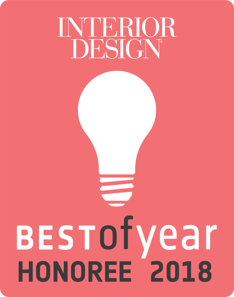 Salon XIA has won a 2018 Best of Year Honoree Award from Interior Design magazine