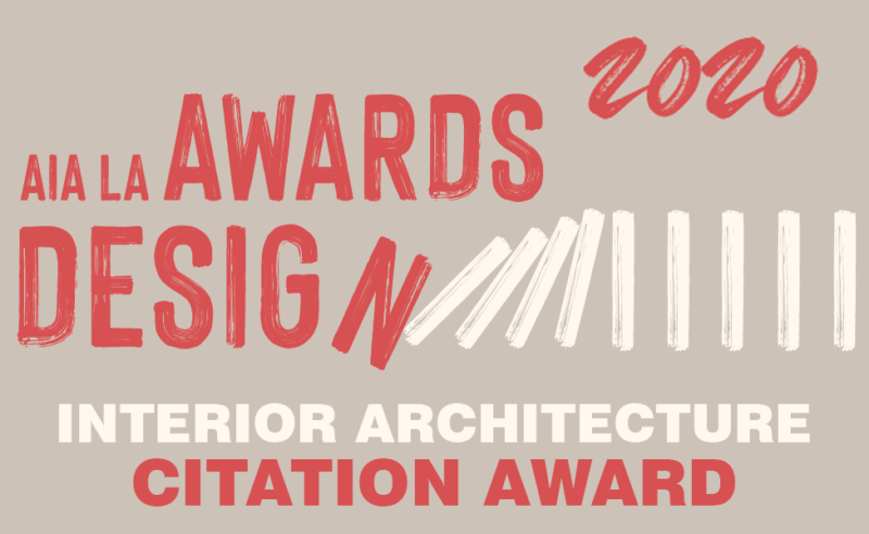We are honored to have won a 2020 AIA/LA Citation Award in Interior Architecture for our Salon XIA project