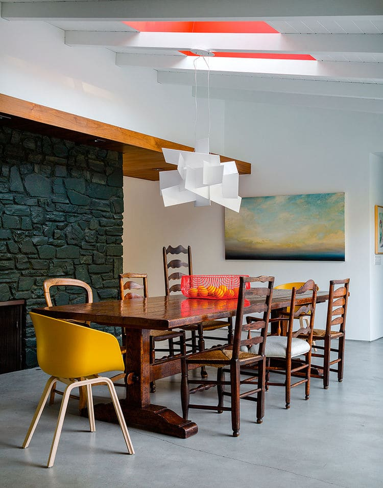 Design/Milk admires the Dining Room at Ranch Redux