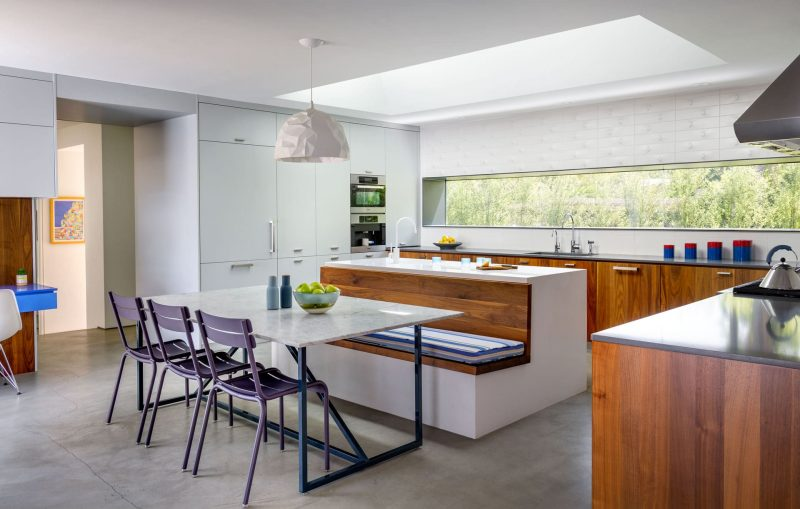 Ranch Redux has one of Dwell's favorite '8 Modern Eat-In Kitchens'